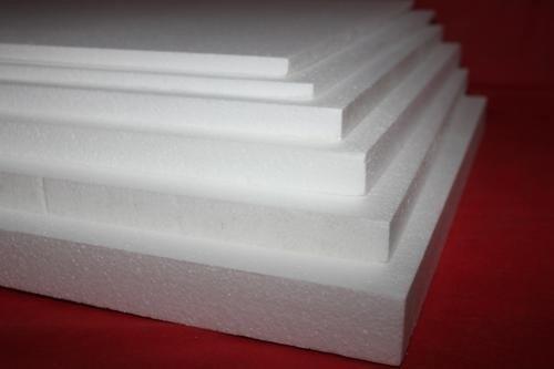 Placas de isopor para preenchimento